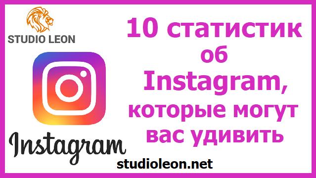 10 статистик об Instagram, которые могут вас удивить